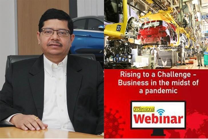 """Rajendra Petkar, President and CTO, Tata Motors: """"Collaboration is going to be key, going forward. People have realised the importance of supporting & working with each other. This pandemic is paving the way for significant collaborative opportunities across the value chain."""""""