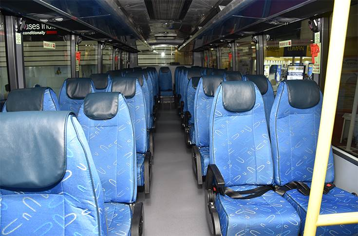 Bharat Benz 917 seating