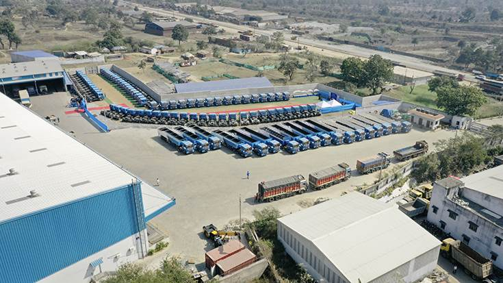 In March 2020, CJ Darcl Logistics, a JV between Korean group CJ and Indian logistics firm Darcl and one of India's leading end-to-end transport and logistics companies  took delivery of 120 BharatBenz tractor-trailers. it already owns 112 BharatBenz trucks.