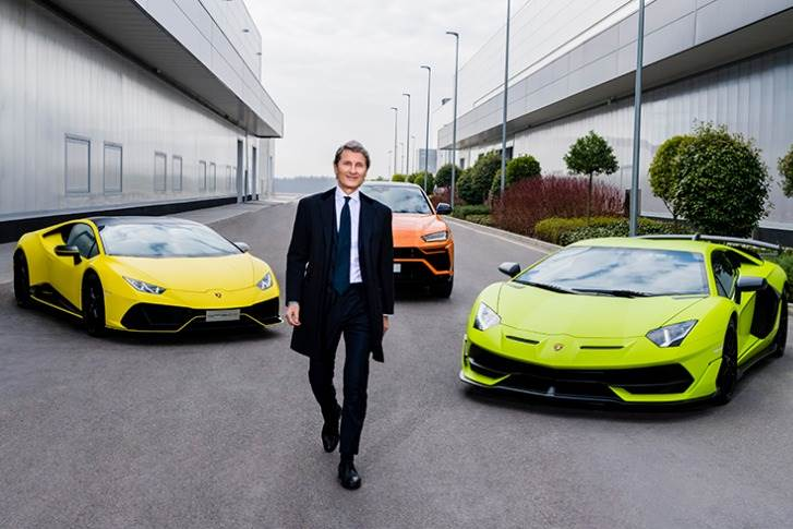 """Stephan Winkelmann: """"This exceptional result is proof of the solidity and strength of this brand, which is enjoying growing appeal despite a period of continuous challenges and uncertainty."""""""