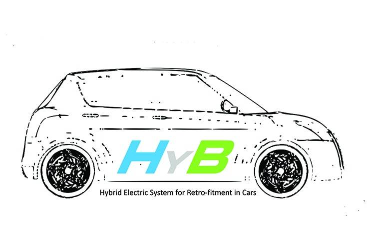 Christened HyB Car Kit, the xEV solution can be integrated in a combination of series, parallel or plug-in-hybrid layouts and aims to minimise losses in an MT car which can be as high as 70 percent.