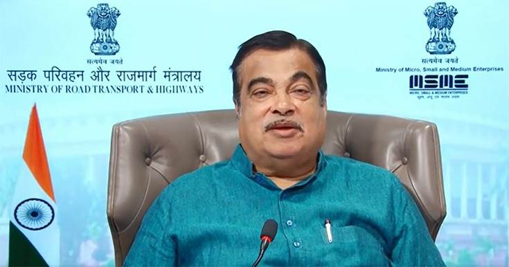 """Nitin Gadkari at 'Atmanirbhar Bharat Innovation Challenge 2020-21': """"I am expecting that we will get approval as early as possible for the scrapping policy."""""""