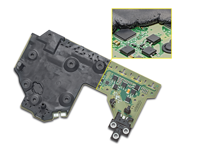 The new overmoulding control electronics excels with around 45% less weight, greater robustness and significantly fewer production stages.