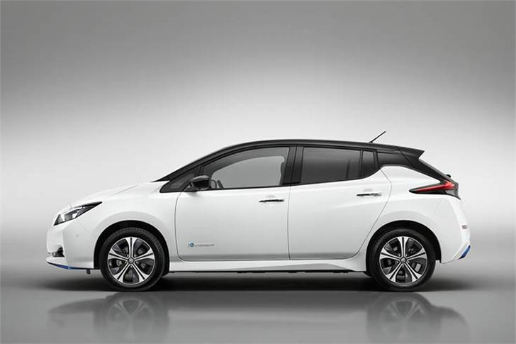 With an available new 70 kW (100 kW peak) Quick Charging system, the 2019 Nissan Leaf e+ can charge more efficiently than ever before.