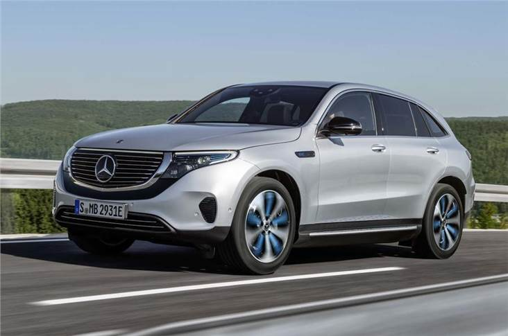 Mercedes says the EQC's drag coefficient is lower than 0.30