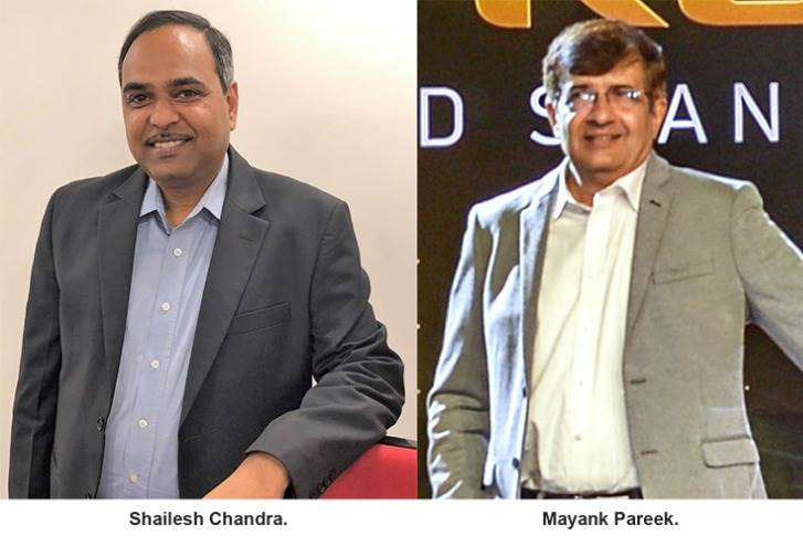 Shailesh Chandra will be taking charge of the PV business from Mayank Pareek. They will together work on the transition over the next few weeks. Pareek will be superannuating from Tata Motors end-February 2021.