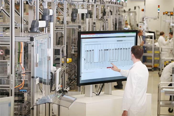 Energy efficient Bosch plant in Homburg, Germany, employs energy management platform uses data from the machinery collected at some 10,000 measuring points.
