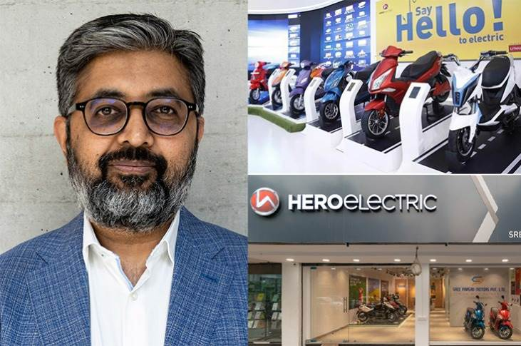 """Naveen Munjal:""""Hero Electric is poised to grow at over 2X from the last fiscal. Hero aims to sell over 1 million units per year in the next couple of years."""""""