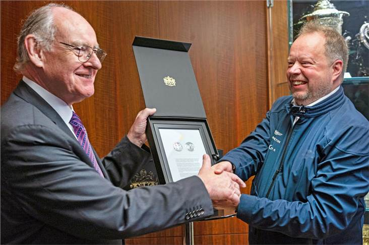 Andy Palmer was welcomed to LSE by its chairman, Donald Brydon CBE