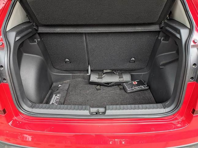 385-litre boot not best in segment but offers low loading lip for ease of use.