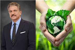 """Anand Mahindra: """"We must widen the arc of climate action among the corporations of the world. A marketplace for low carbon technologies and climate funds will create a virtuous cycle."""""""