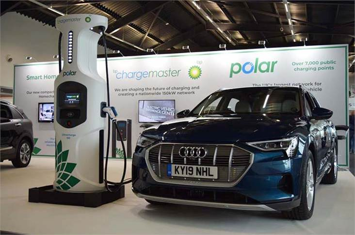 BP Chargemaster activates first 150kW ultra-fast EV chargers.