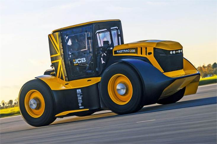The JCB Fastrac Two is the world