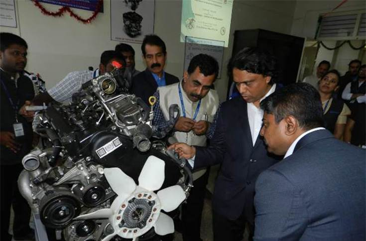 The 5th Toyota Centre of Excellence inaugurated at Sri Venkateshwara College of Engineering, Bengaluru