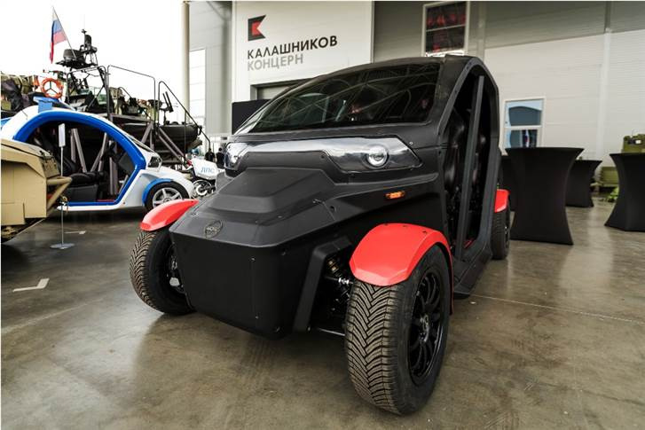 The electric passenger vehicle