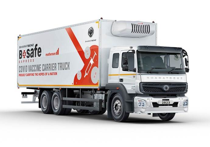 With more than 100,000 employees, Daimler Trucks unites seven brands under one roof: BharatBenz (in India), Freightliner, Fuso, Mercedes-Benz, Setra, Thomas Built Buses and Western Star.