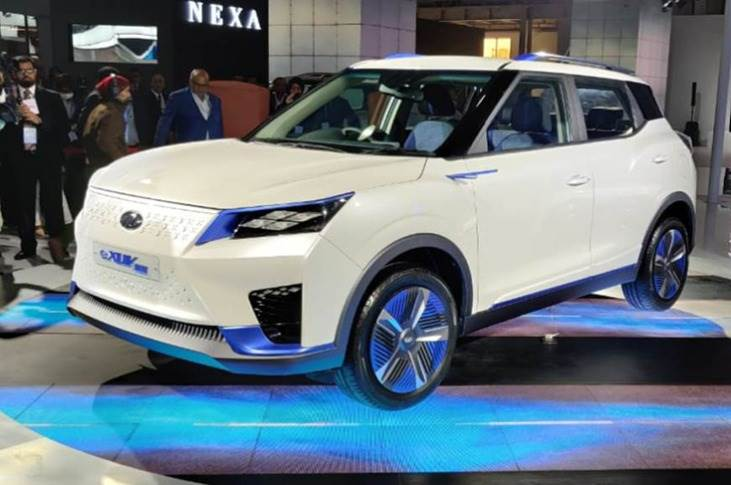 All-electric XUV300, showcased at the Auto Expo 2020 in February,is likely to be offered with two battery pack options. Launch slated to be insecond half of 2021.