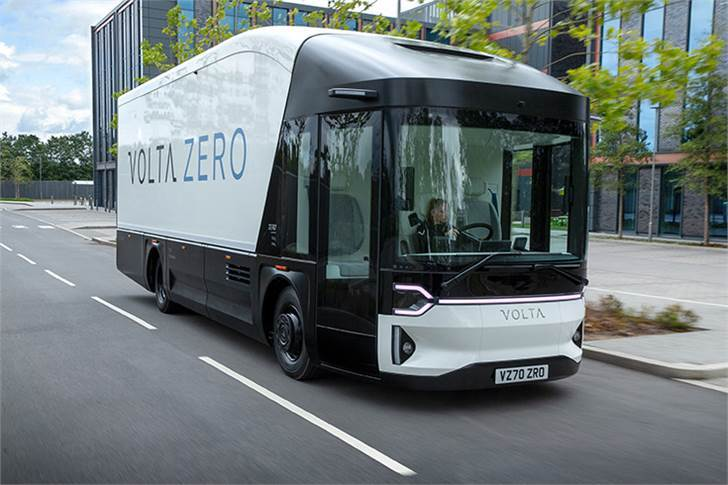 Volta Zero has a pure-electric range of 150-200km. This is more than sufficient for the daily use of a 'last-mile' delivery vehicle and has been validated using simulations with a full payload.