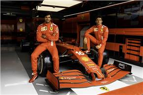 As part of the partnership with Scuderia Ferrari, the AWS logo will debut on the team's car and drivers' apparel this weekend at the French Grand Prix and beyond.