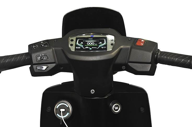 Varroc's TFT Instrument Cluster offers complete customisation of interface and an array of other features such as Navigation, Day and Night modes, Bluetooth connectivity, AES encryption, and mobile phone synchronisation.