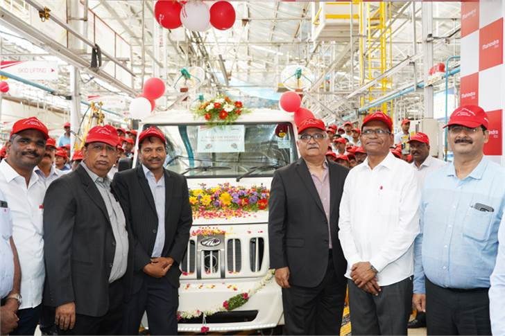 The Zaheerabad plant in Telangana manufactures utility vehicles, three-wheelers and LCVs.