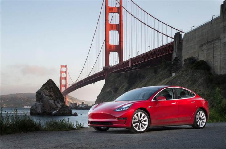 The Tesla Model 3 is the brand