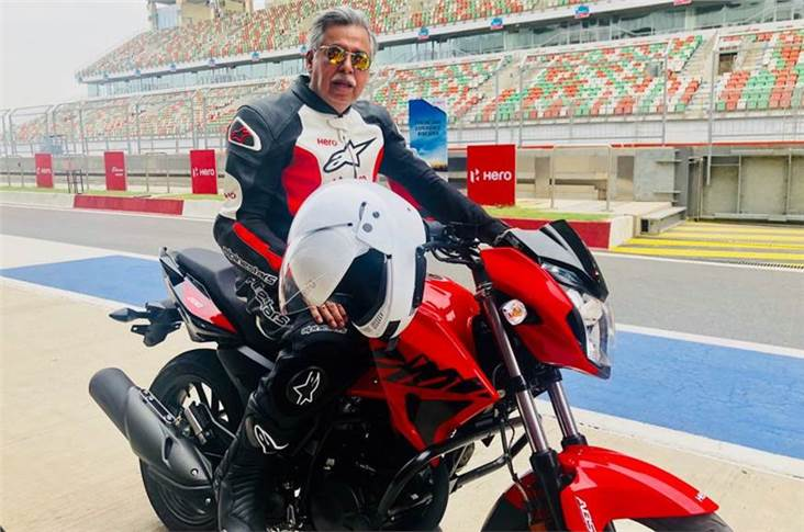 """The Xtreme 200R is our re-entry into a segment where we had a sizeable presence and market share not too long ago,"" said Pawan Munjal, MD and CEO, Hero MotoCorp."