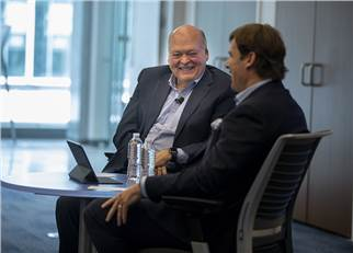 Jim Hackett and Jim Farley.