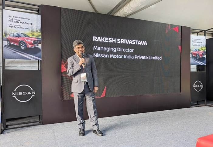 """Rakesh Srivastava: """"Q4 is the biggest quarter in the automotive industry from a sales perspective. We want to deliver the maximum number of Magnites between January and March."""""""