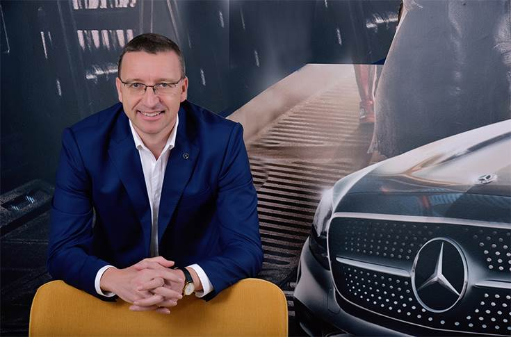 """Martin Schwenk: """"With the Retail of the Future strategy, we intend to move from a linear process to a more interconnected retail model for Mercedes-Benz in India."""""""