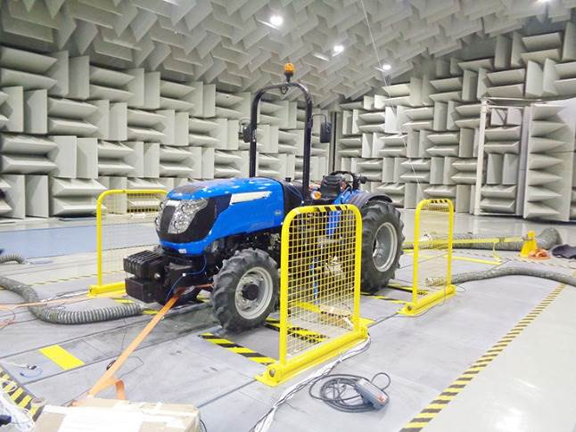 The NVH lab has different chambers for component-level, heavy-duty and passenger vehicle testing including details about squeak and rattle analysis.