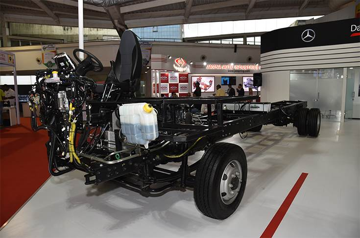 Eicher 917 chassis