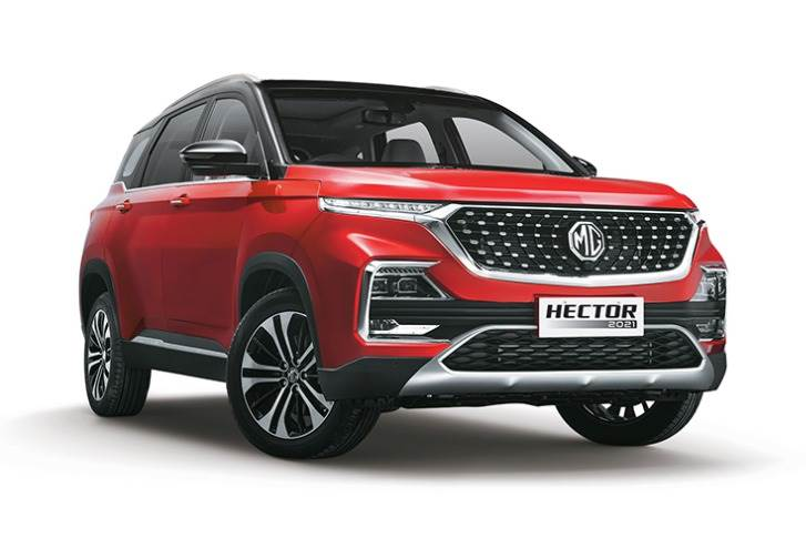 Launched on June 27, 2019, the sales milestone comes 21 months after the Hector was introduced in the competitive Indian marketplace.