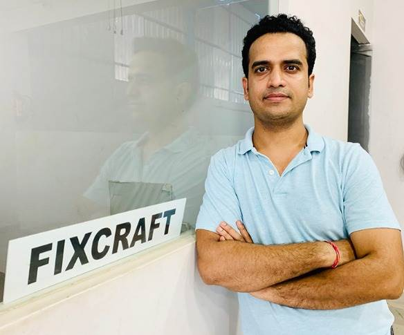 """Fixcraft founder and CEO Vivek Sharma: """"The initial response has been really amazing."""""""
