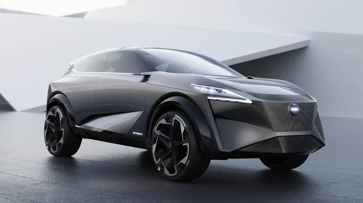 The IMQ concept crossover features a groundbreaking 100 percent electrified powertrain, to be available in Nissan cars by 2022.