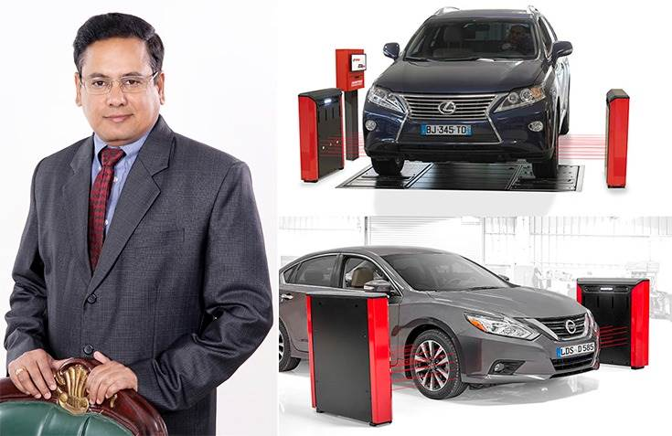 """Surya Prakash TK, Regional Manager – South Asia: """"Quick Check Drive is a genuine industry game-changer and one that is set to revolutionise the way workshops all over the country operate."""""""