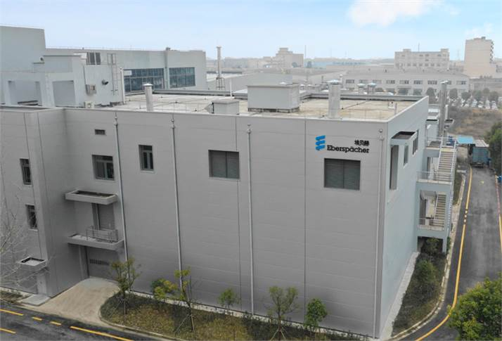Exterior view of the Asia Test Center in Shanghai.