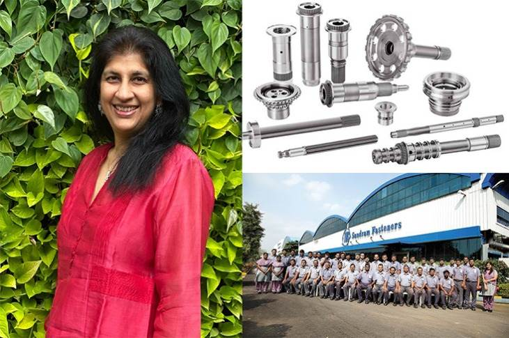 """Managing Director Arathi Krishna: """"Despite the pandemic-related challenges in 2020, we managed to deliver excellence by adroit stock and inventory management, prudent manufacturing planning and intelligent logistics coordination, without compromising the health and safety of our people."""""""