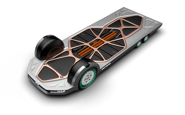 The FlatFormer concept was first showcased at 2019 Tokyo Motor Show, which the partners say received huge positive response.