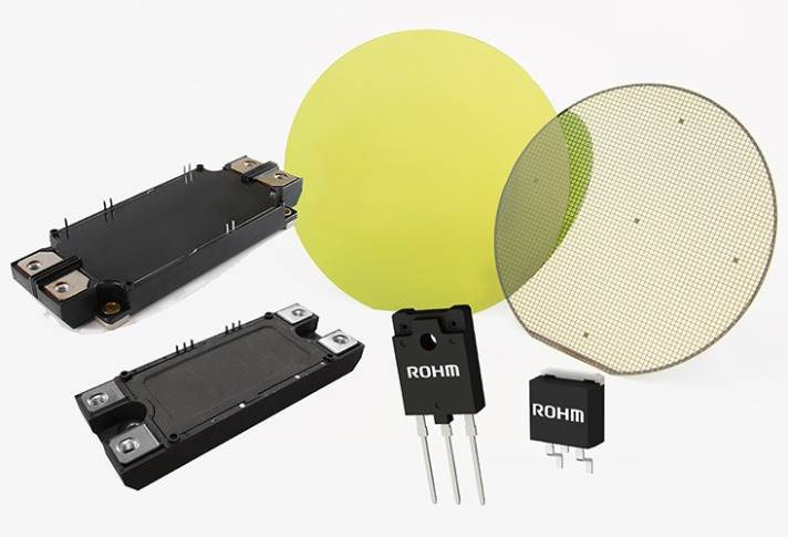 Used in various fields of application, ROHM's SiC solutions are high power performers. Source: Rohm Semiconductors