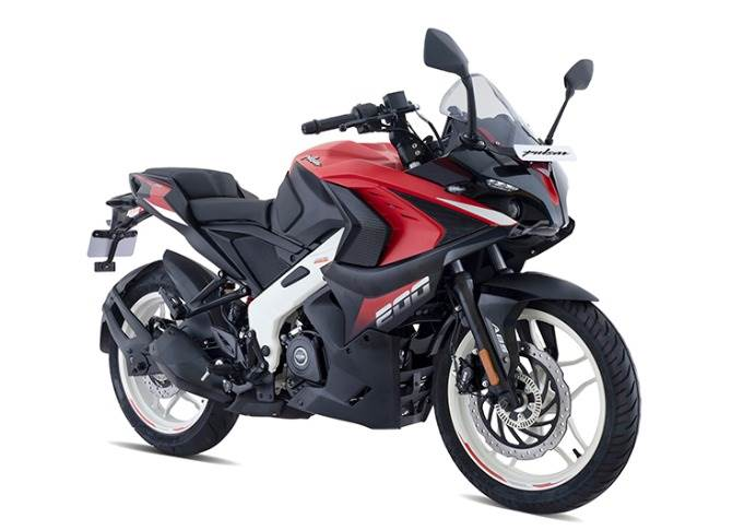 The new Pulsar RS 200, which develops 24.15hp, will be available in three colour schemes: Burnt Red (Matte Finish), Metallic Pearl White and Pewter Grey.