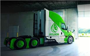 FEV is partnering electrified powertrain systems start-up, Hyliion, to support design, development, integration and validation of its Electric Range Extender for Class 8 tractor-trailer applications