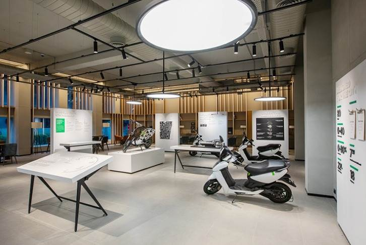 Ather has been offering test rides at its experience centre, Ather Space in Wallace Garden Street, Chennai.