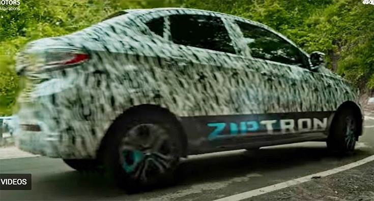 Ziptron tech likely to feature 30.2kWh battery pack with over 300km range.
