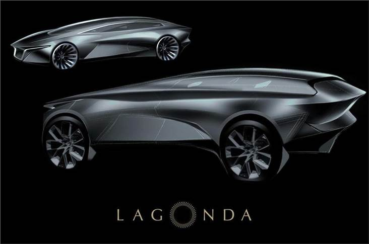 Lagonda SUV, 2022; this SUV will be closely related to the DBX and built at the new St Athan plant in Wales