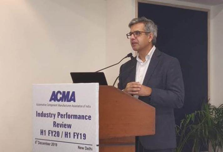 """Vinnie Mehta, director general, ACMA: """"Exports in the automotive industry grew by 2.7% this fiscal year, which is a silver lining for the industry."""""""