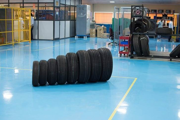 Endurance and rolling resistance tests can be performed inside ICAT