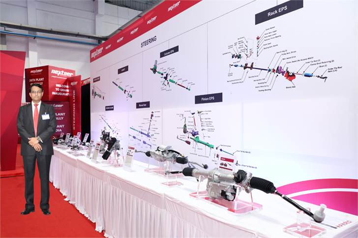 "Madhav Kulkarni, MD, Nexteer Automotive India: ""The $200 million target looks ambitious but we are working aggressively towards achieving it."""