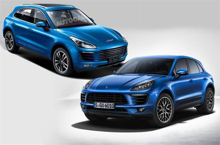 Spot the difference between the new Zotye SR9 and Porsche
