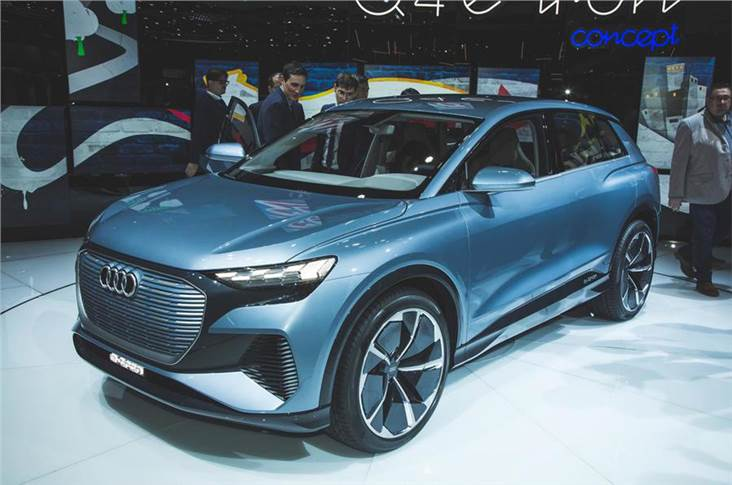 The Q4 e-tron is the latest model unveiled in Audi